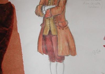 Maquette costume, Figaro