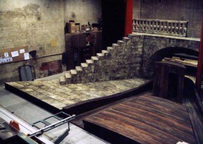Il Tabarro premontage en atelier